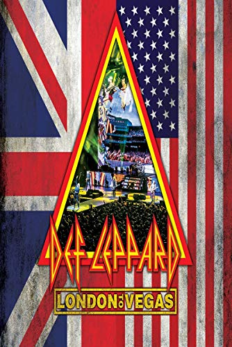 Def Leppard - London to Vegas  (+ 4 CDs) [2 DVDs]