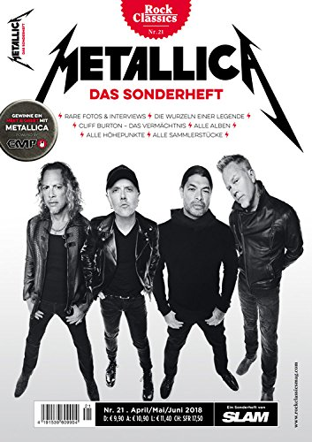 METALLICA Sonderheft 'Rock Classics'