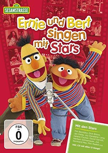 Sesamstraße präsentiert: Ernie und Bert singen mit Stars (inklusive CD)