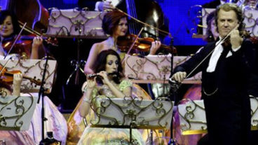 André Rieu Tour 2012 – 25 Jahre Johann-Strauss-Orchester, Arena in Trier