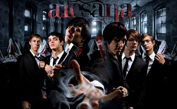 Alesana We Came As Romans, Iwrestledabearonce Glamour Of The Kill, Essigfabrik in Köln