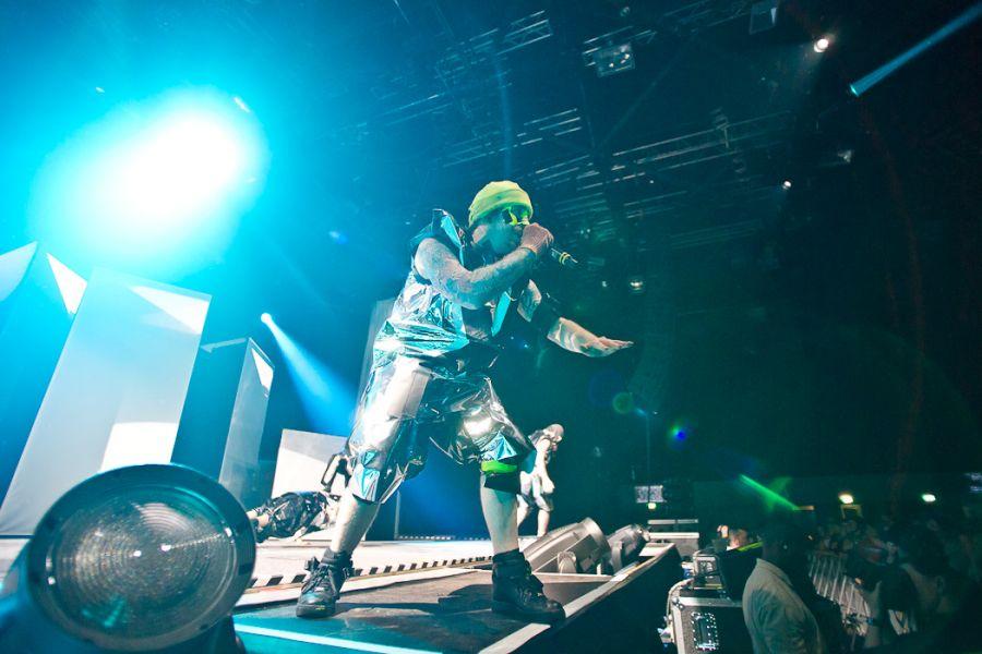 Deichkind – Tour 2012 – Mitsubishi Electric Halle in Düsseldorf