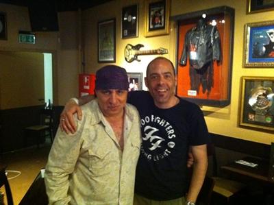 Interview mit Steven Van Zandt im Kölner Hard Rock Cafe