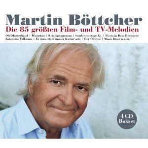 Martin Böttcher Die 85 größten Film-und TV-Melodien (4 CD)