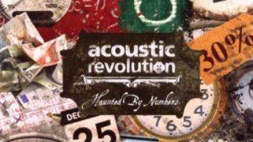 "Neues Werk des Modern Folk Trios Acoustic Revolution ""Haunted By Numbers"""