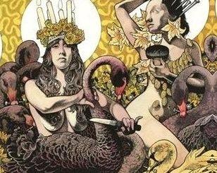 Baroness Yellow & Green CD Album Cover