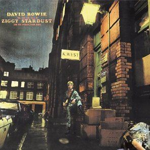 David Bowie The Rise And Fall Of Ziggy Stardust And The Spiders From Mars CD Cover