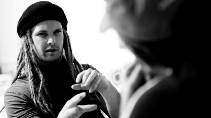 Einar Solberg von Leprous im Interview mit Andreas Weist, Garage Saarbrücken