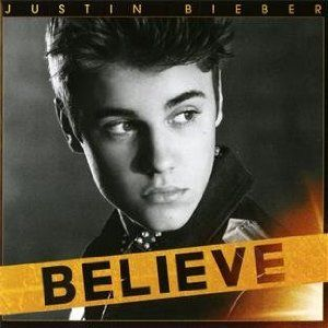 Justin Bieber Album Believe Cover