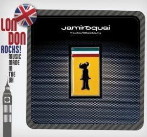 London Rocks! Music Made In The UK Jamiroquai: Travelling Without Moving Album Cover