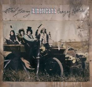 Neil Young & Crazy Horse Americana CD Cover