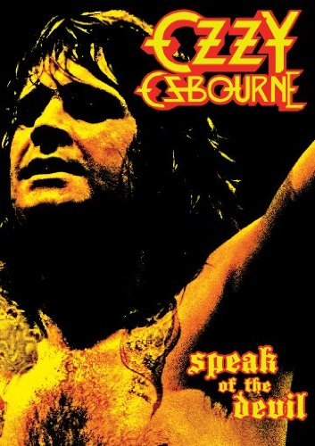 "Ozzy Osbourne DVD Cover ""Speak Of The Devil"""