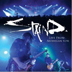 Staind Live From Mohegan Sun Album Cover
