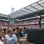 Staubkind als Support von Unheilig, 21.07.2012 im RheinEnergieStadion zu Koln