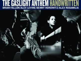 The Gaslight Anthem Handwritten Album Cover