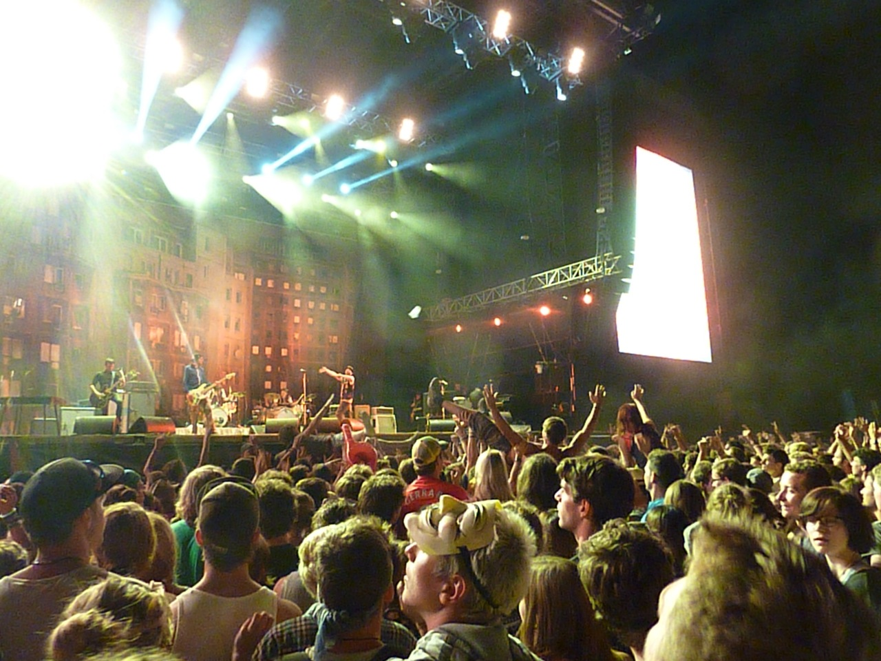 FM4 Frequency Festival St.Pölten/Österreich 15.-18.08.2012 mit The Killers, Placebo, The Cure, Korn, The Black Keys, Bloc Party, Beatsteaks, Sportfreunde Stiller u.v.a