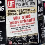 Open Flair Festival, 09.08.-12.08.2012, Eschwege