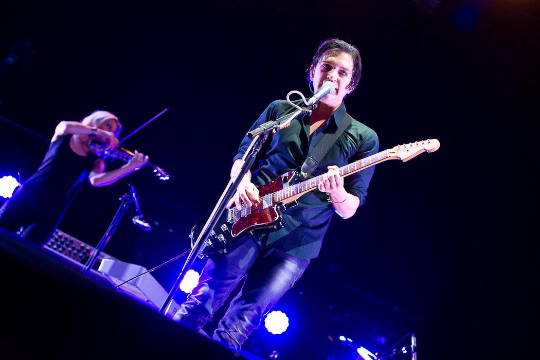 Fotos von Placebo bei Rock im Pott am 25.08.2012 in der Veltins Arena, Gelsenkirchen