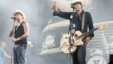 Fotos von The Boss Hoss bei Rock im Pott am 25.08.2012 in der Veltins Arena, Gelsenkirchen