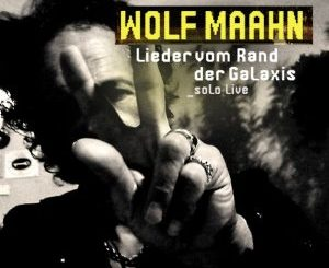 CD Cover Wolf Maahn Leider vom Rande der Galaxis