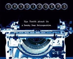 Skydiggers Werkschau Northern Shore CD Cover