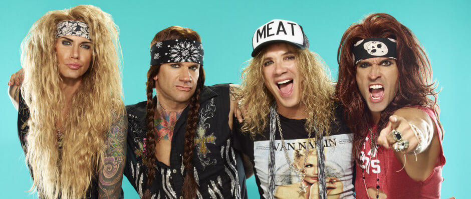 Party All Day, Fuck All Night – Steel Panther feiern in der Live Music Hall – Support: Kobra And The Lotus