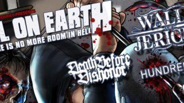 Hell On Earth Tour 2012 mit Walls Of Jericho, Köln Essigfabrik