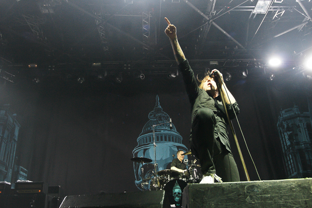Billy Talent – 09.10.2012 – Mitsubishi Electric Halle, Düsseldorf – Support: Arkells & Anti-Flag