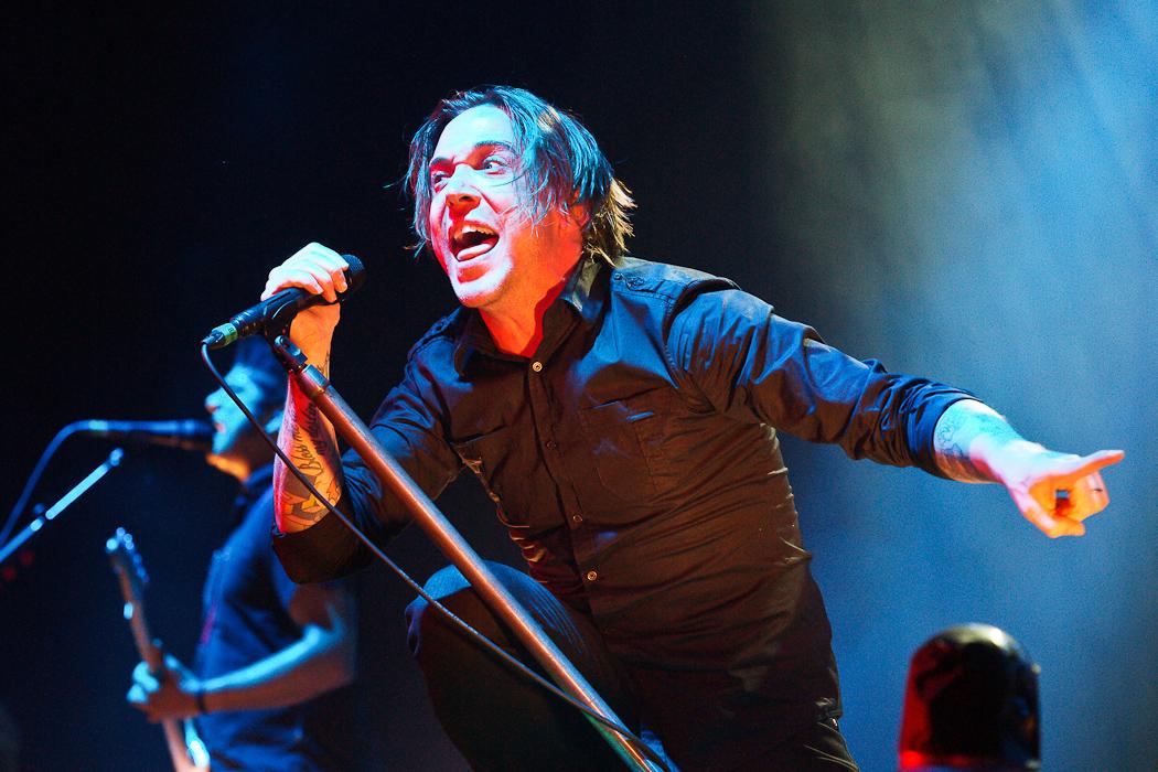 Fotos von Billy Talent am 09.10.2012 in der Mitsubishi Electric Halle, Düsseldorf