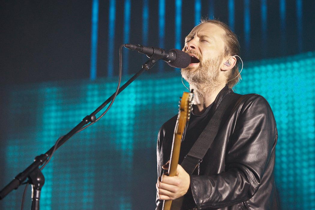 Radiohead Fotos – Lanxess Arena in Köln 2012