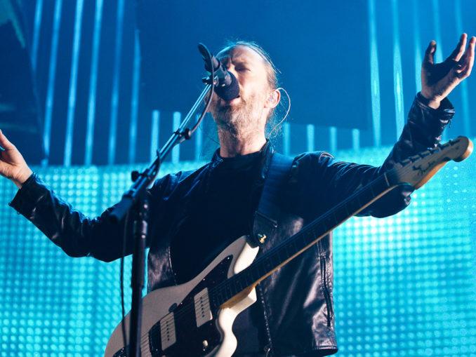 Fotos von Radiohead am 15.10.2012 in der Lanxess Arena, Kšln