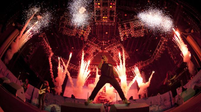 Iron Maiden Maiden England Tour 2013 Deutschland, copyright John McMurtrie