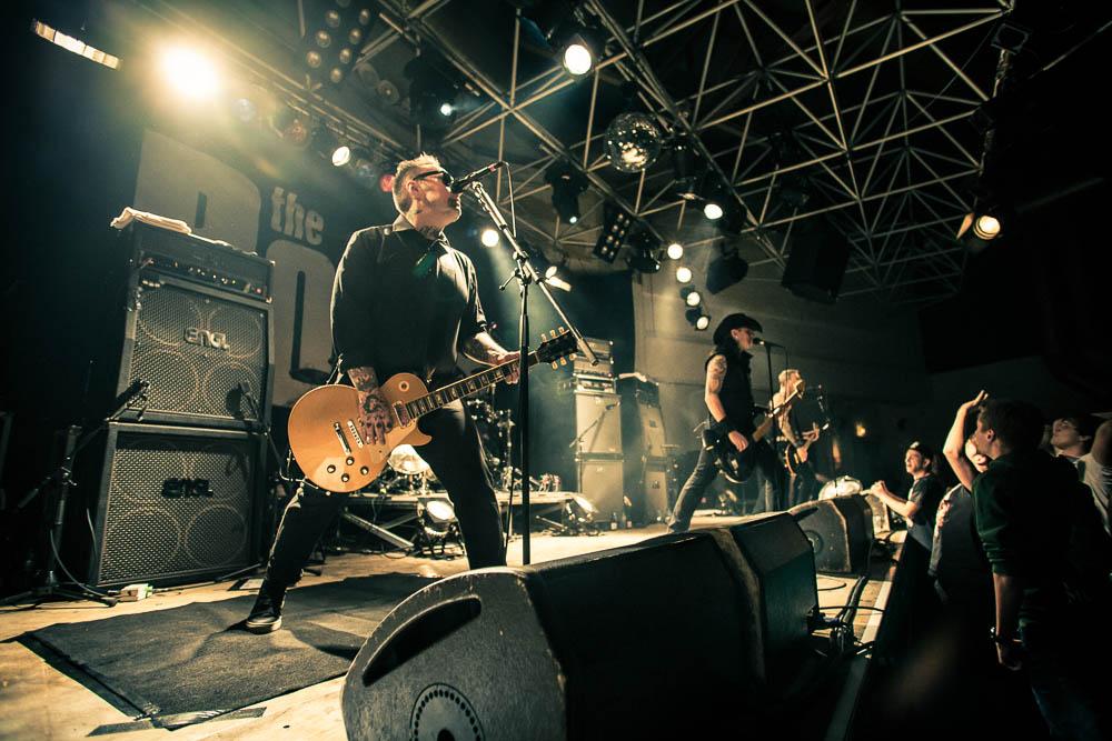 Fotos von The Bones im zakk! Düsseldorf am 26.11.2012