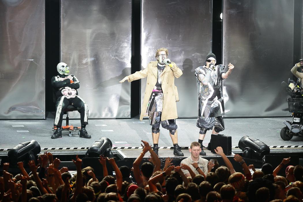 Fotos von Deichkind am 29.11.2012 im Palladium, Köln