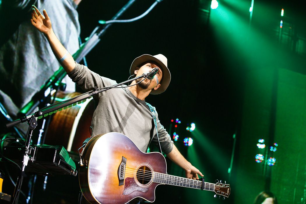 Fotos von Jason Mraz am 25.11.2012 in der Mitsubishi Electric Halle, Düsseldorf