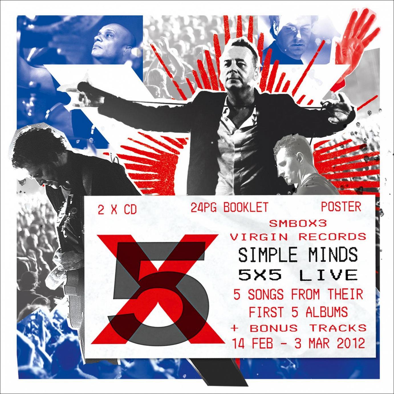 """Die Simple Minds gehen mit """"5×5 live"""" auf Zeitreise in die 70er und 80er Jahre"""