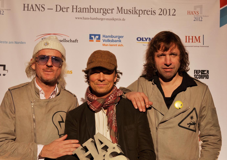 Fotos von der Verleihung des Musikpreis HANS am 26.11.2012 im Gruenspan, Hamburg