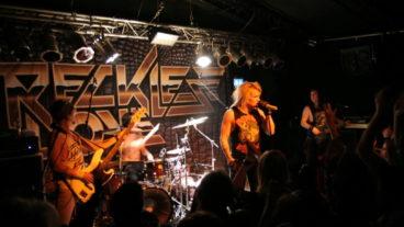 Fotos von Reckless Love im Underground, Köln 29.10.2012 (erster Gig in Deutschland!)