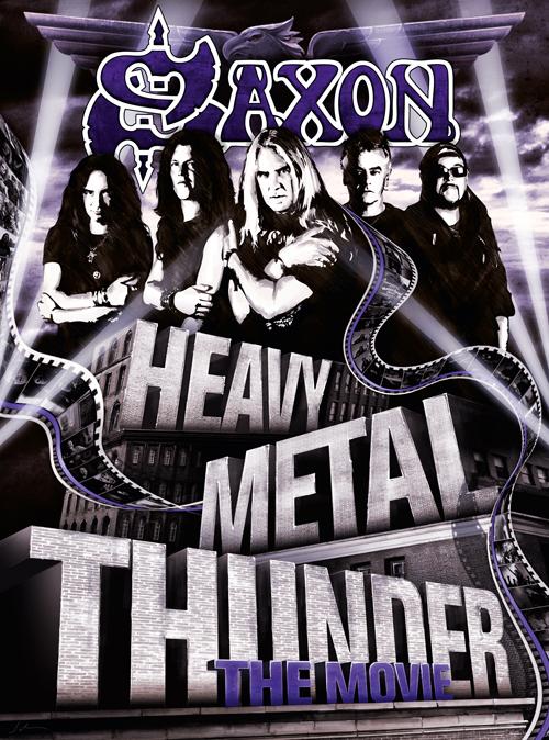"Der Doku-Film ""Heavy Metal Thunder – The Movie"" beleuchtet Saxons Historie von Anfang an"
