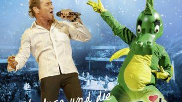 """Peter Maffay und TABALUGA präsentieren das Rockmusical """"Tabaluga und die Zeichen der Zeit – live"""" auf DVD und CD"""