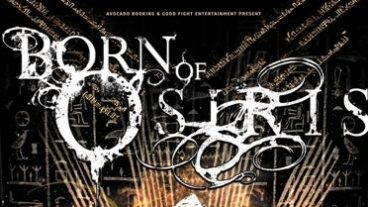 Spieltechnische Raffinesse: Born Of Osiris, After The Burial, Monuments und The HAARP Machine im Underground am 22.02.2013