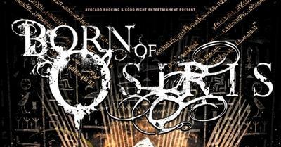 Spieltechnische Raffinesse: Born Of Osiris, After The Burial, Monuments und The HAARP Machine im Underground am 22.02.2013