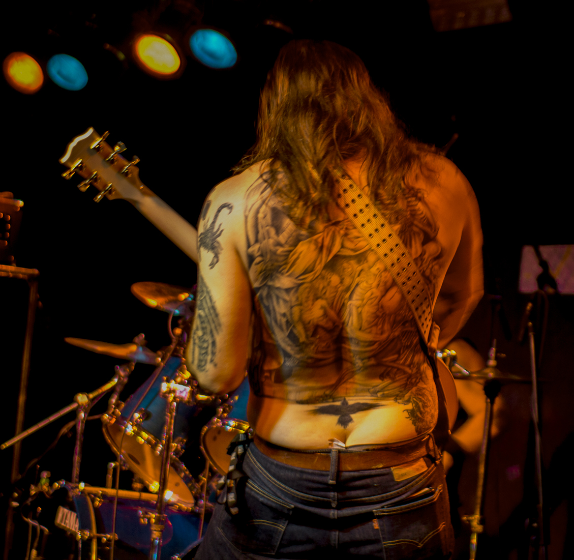 High On Fire, Jumping Jack und Lizzard im Underground 14.02.2013