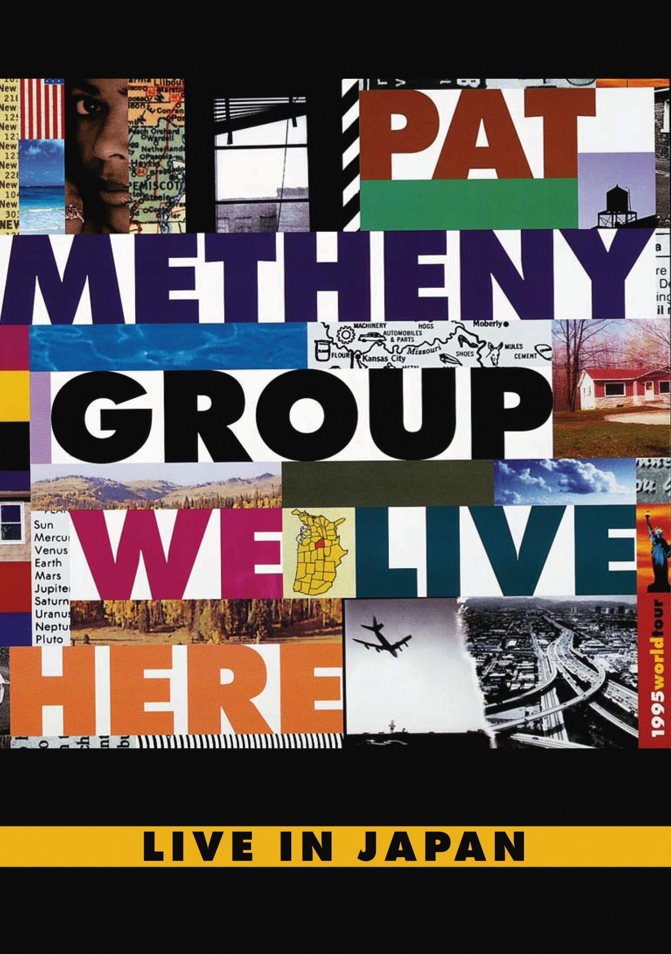 Die Pat Metheny Group im Jahr 1995: