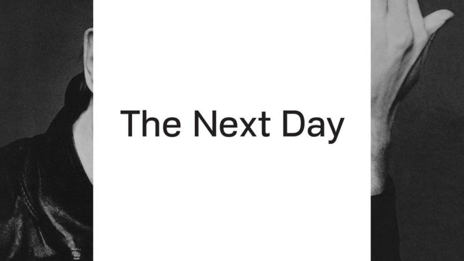 David Bowie The Next Day CD Cover