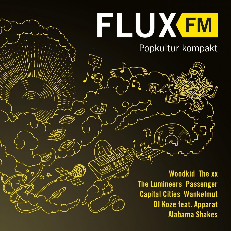 Flux FM – Popkultur kompakt: Der erste Sampler des Kultsenders