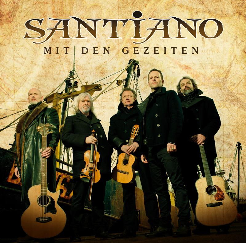 """Santiano fahren """"Mit den Gezeiten"""" durch die raue See"""