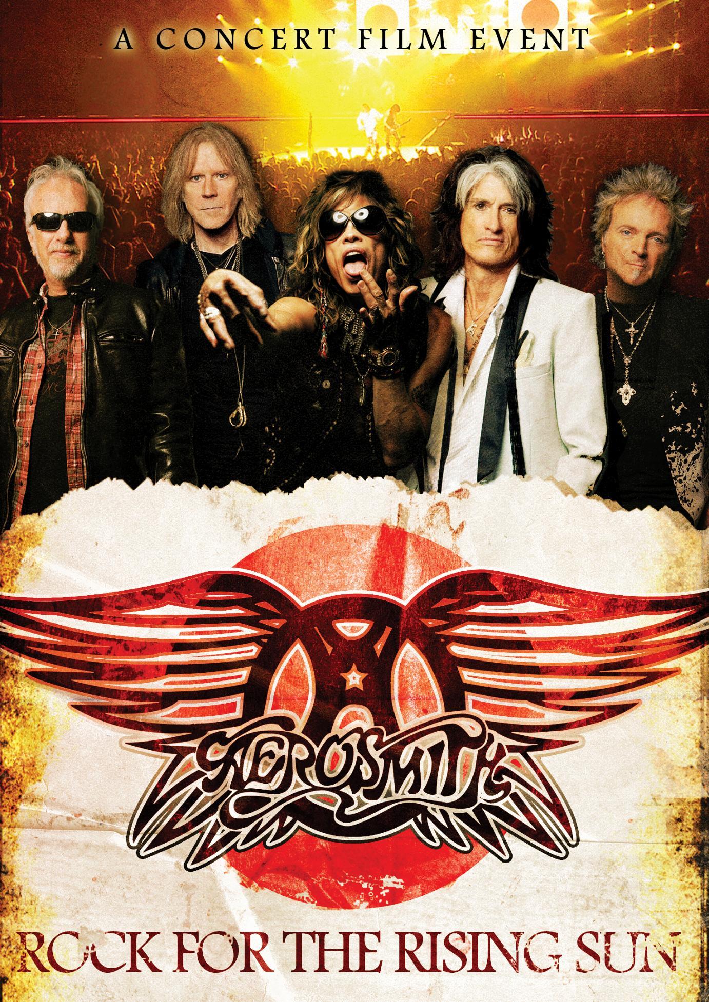 """Rock For The Rising Sun"" – Aerosmith live und hinter den Kulissen in Japan"