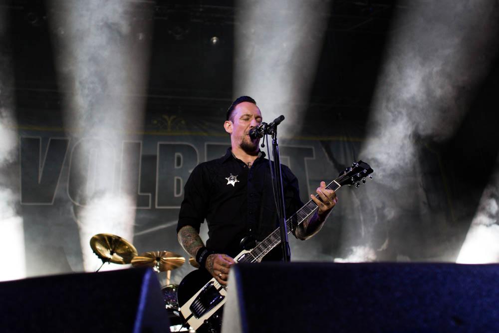 Fotos von Volbeat bei Rock'n' Heim Freitag 16.08.2013