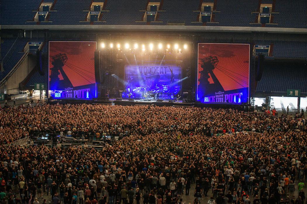 Konzert - Volbeat Rock im Pott 2013